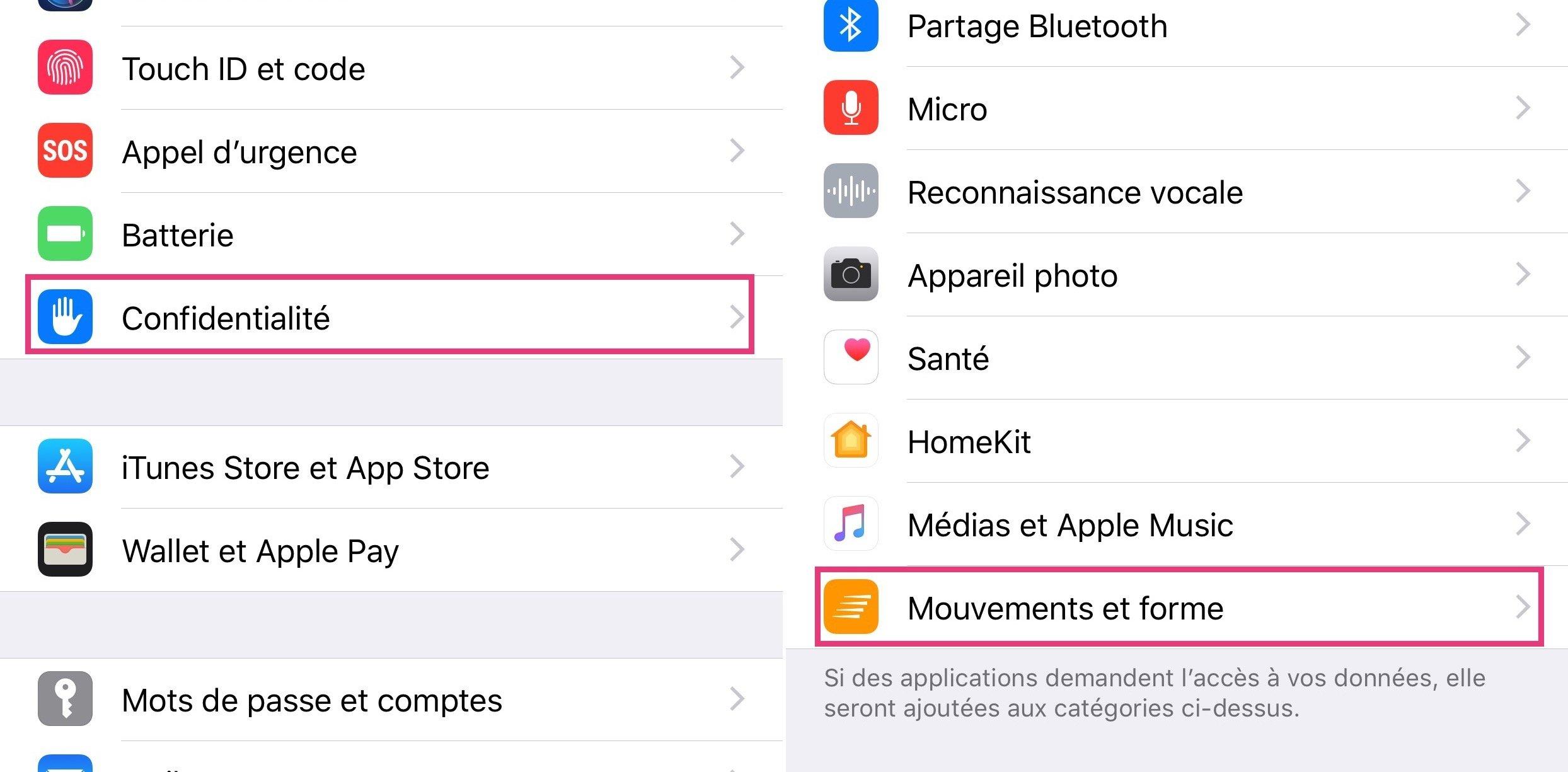 Tutoriel iOS : comment utiliser l'appli Santé pour le comptage des pas, distances et étages, sans accessoire ni appli tierce (Màj 2018) 1