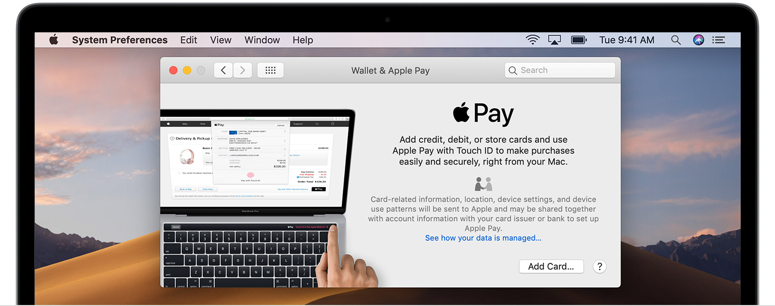 Apple Pay sur Mac