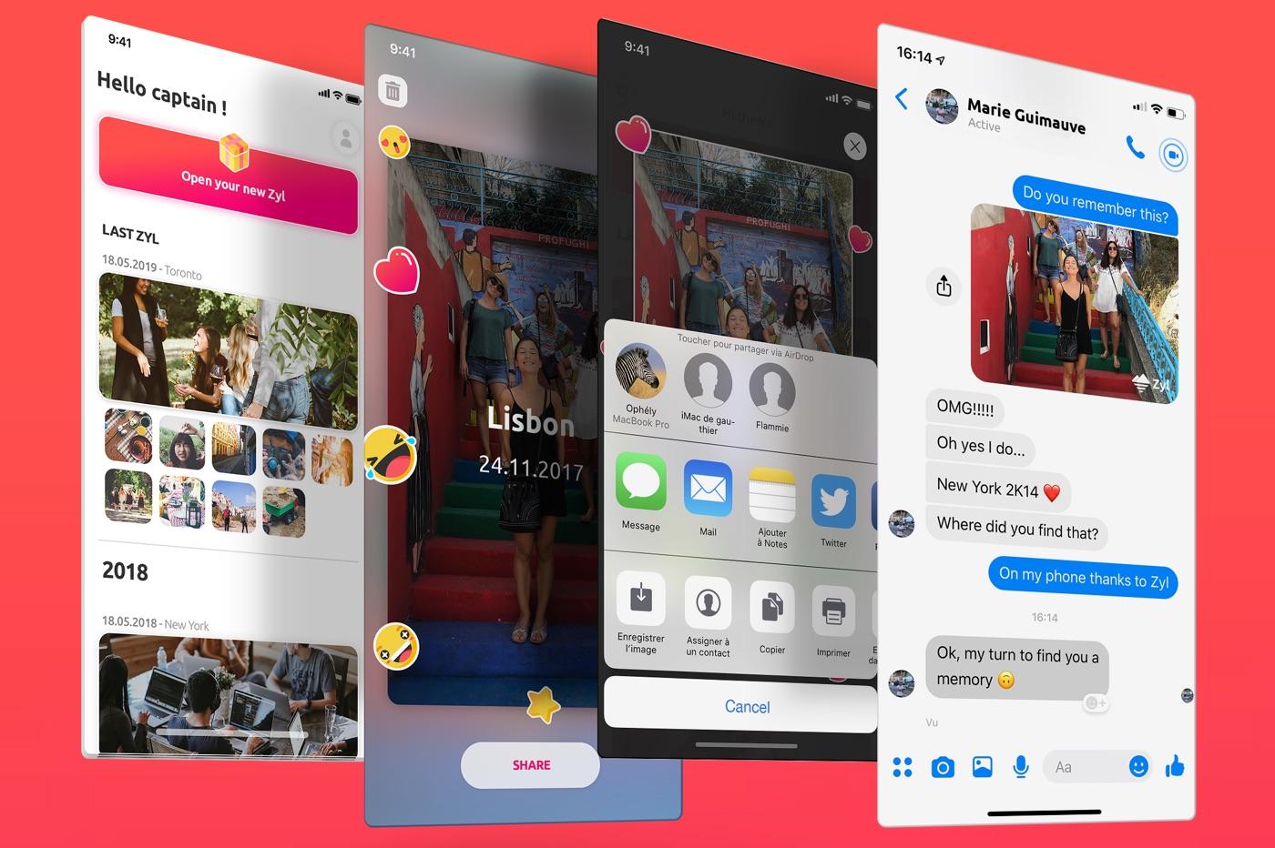 Zyl, une app iOS de gestion de photos intelligente, locale, gratuite et made in France 1