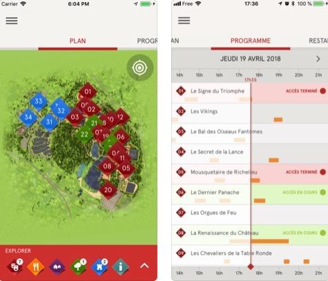 Dossier : les apps iPhone des parcs d'attractions + ambiance et grand-huit en VR et 360 1