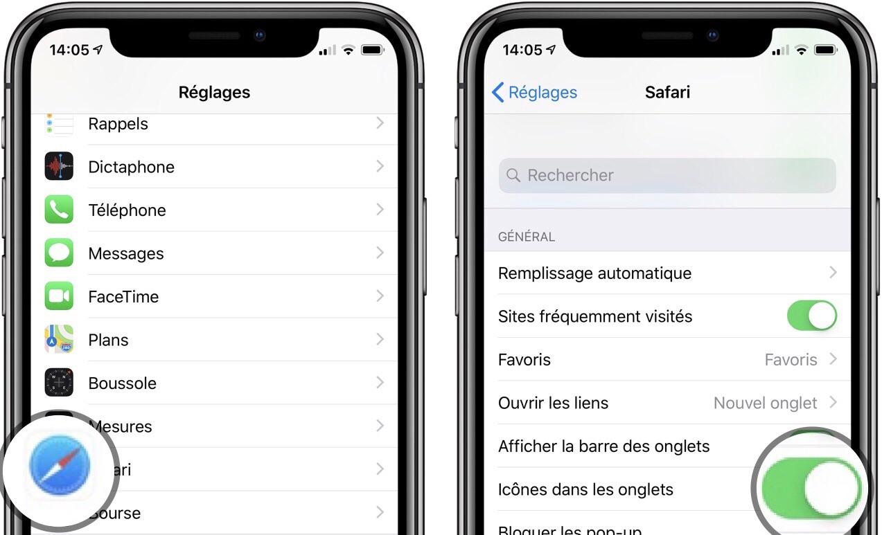 """Les """"Favicons"""" Internet enfin disponibles avec iOS 12 : comment les activer sur Safari 1"""