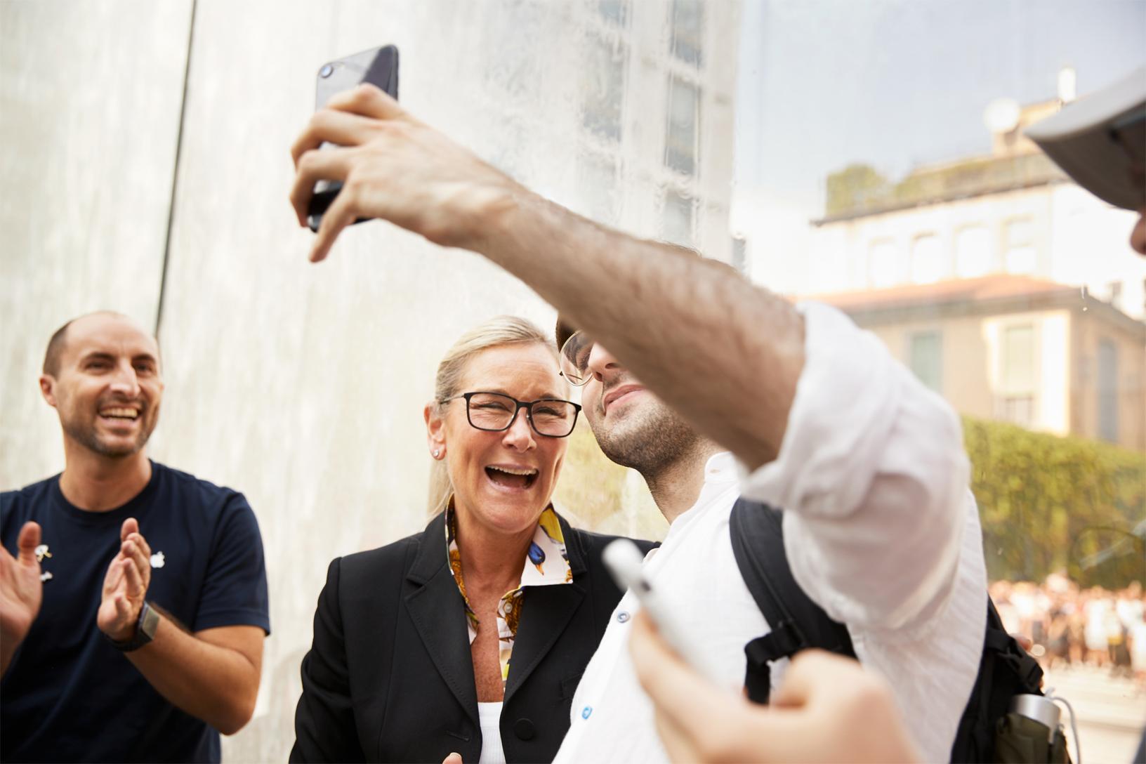 Première interview d'Angela Ahrendts après son départ d'Apple 1