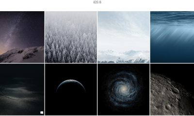 Retrouvez tous les fonds d'écran des iPhone, iPad et Mac passés dans des albums faciles d'accès 29