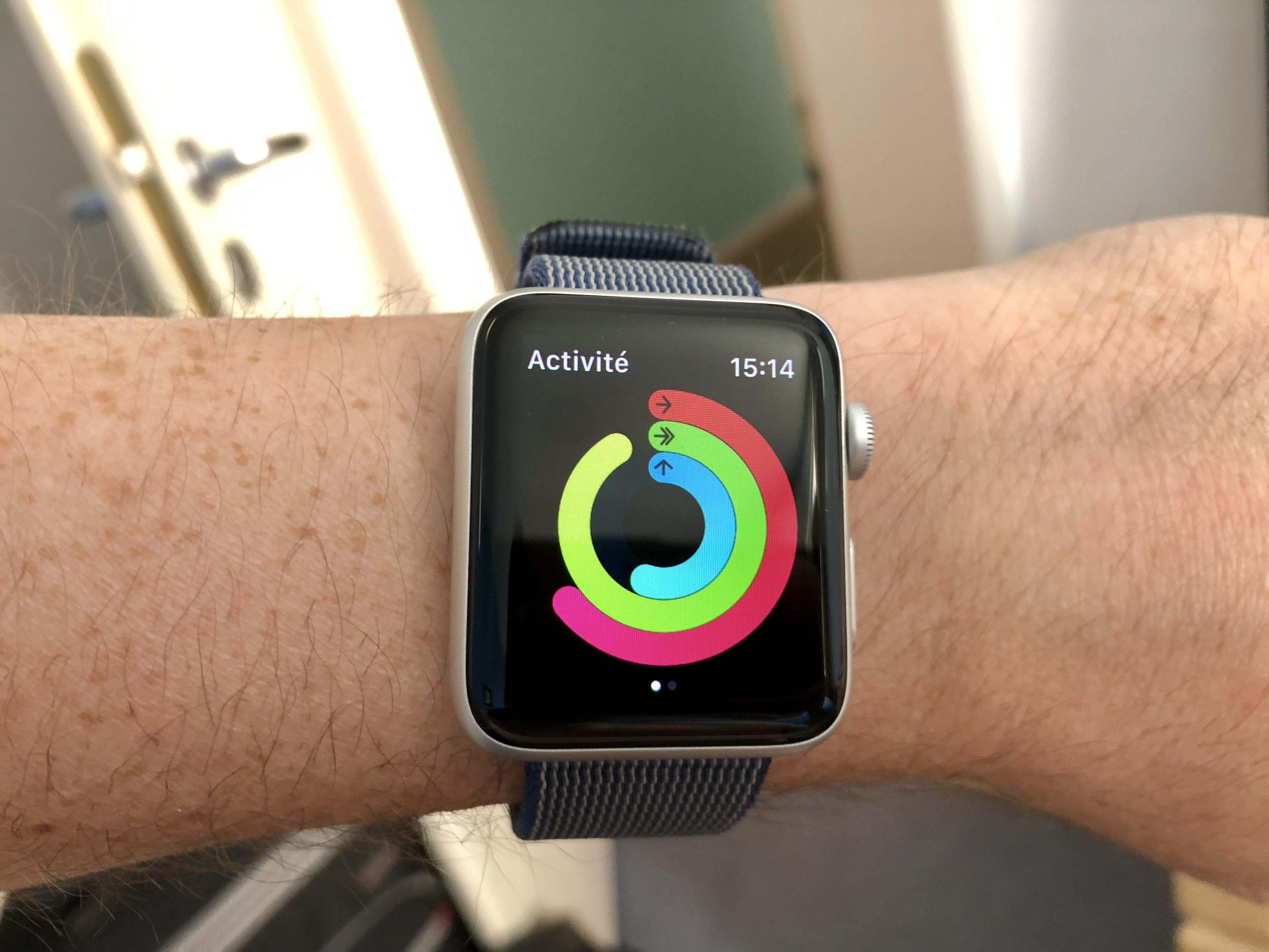Voici comment partager son activité et défier ses amis sportifs avec l'Apple Watch 1