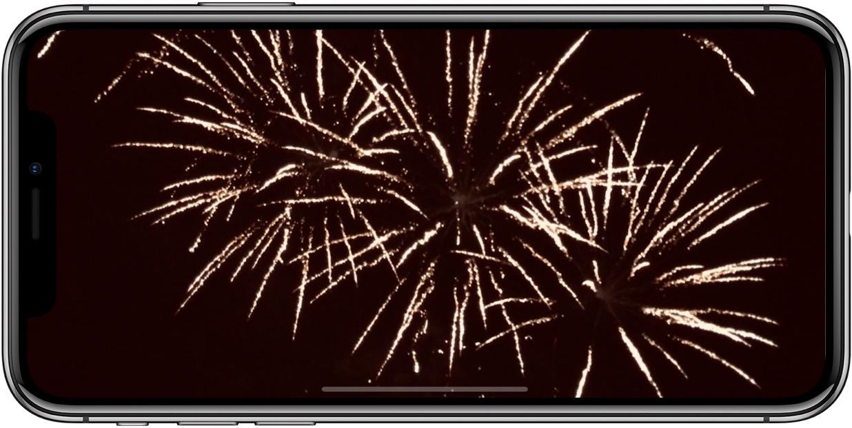 En pratique : 8 conseils pour réussir ses photos des feux d'artifice avec l'iPhone 1