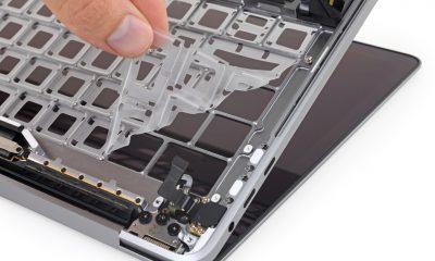 Tests de résistance à la poussière pour le clavier du MacBook Pro 2018 : la membrane est efficace mais pas magique 9