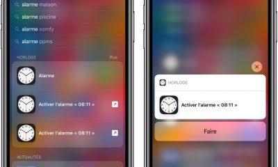 "Astuce iOS 12 : comment programmer un de ses réveils habituels rapidement avec la recherche ""Spotlight"" 15"