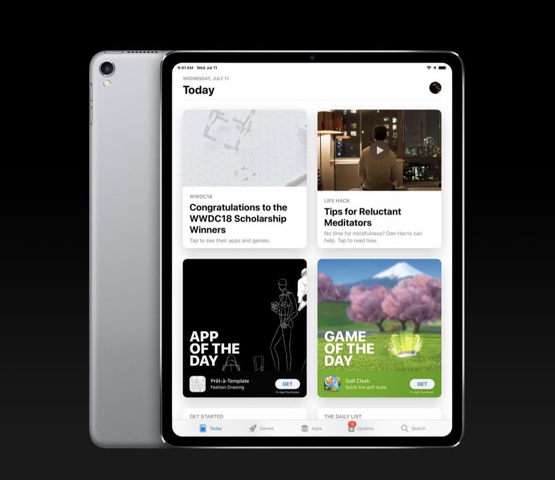 Après iOS 12, la version 12.1 est disponible en beta test public : nouveautés et indiscrétions (iPad pro) 1