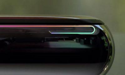 Ecran OLED flexible iPhone X