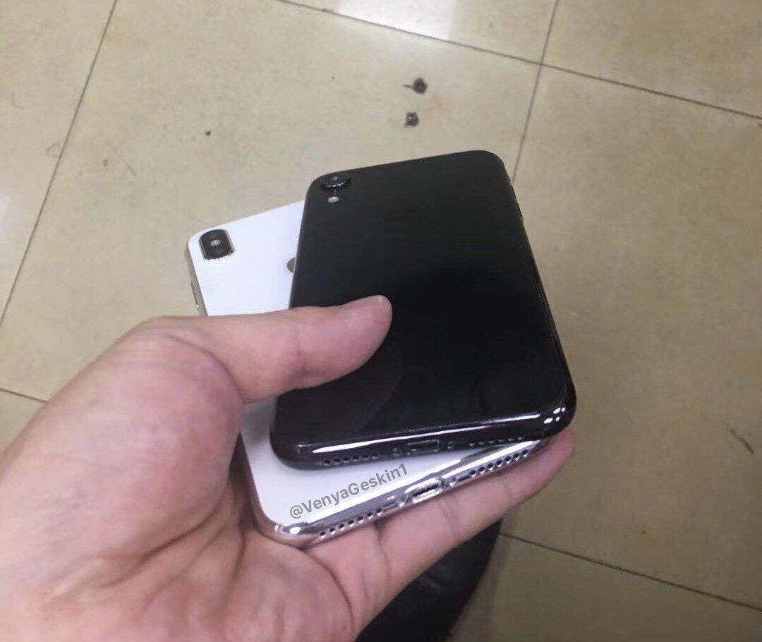 """La nouvelle gamme d'iPhone 2018 version """"maquette réaliste"""" en vidéo : iPhone X LCD et iPhone X """"Plus"""" 1"""