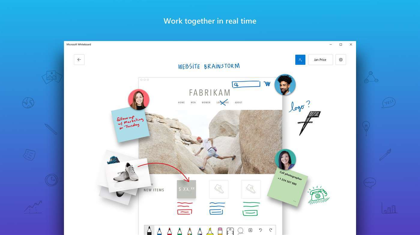 L'app tableau blanc collaboratif de Microsoft arrive bientôt sur iOS 1