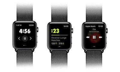 Les entrainements du Nike Training Club désormais accessibles sur l'Apple Watch 17