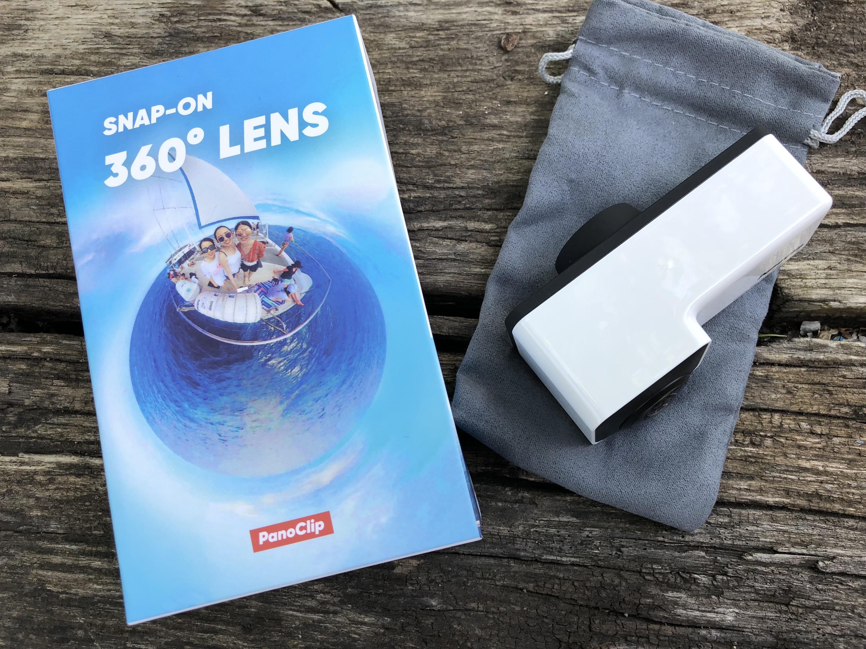 Test Panoclip : la photo 360 degrés sur iPhone grâce à un accessoire malin et peu couteux 1