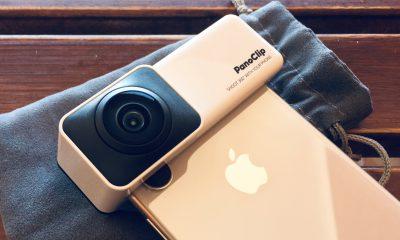 Promo flash sur Panoclip, l'accessoire qui offre la photo 360 à l'iPhone en photos avant son test 15