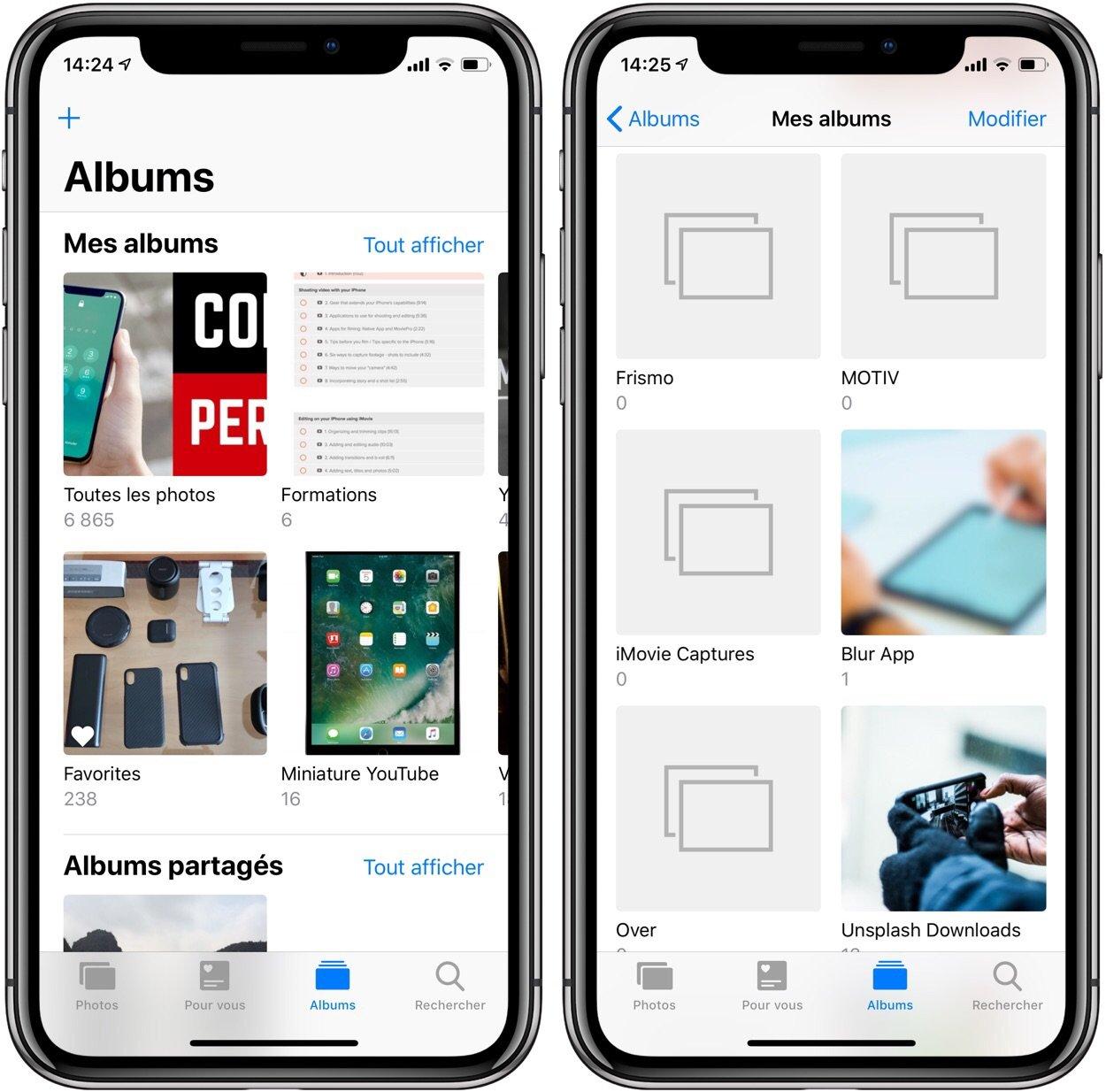 Des albums photos impossibles à supprimer sur iPhone ou iPad ? Tout ce qu'il faut savoir sur le sujet 1