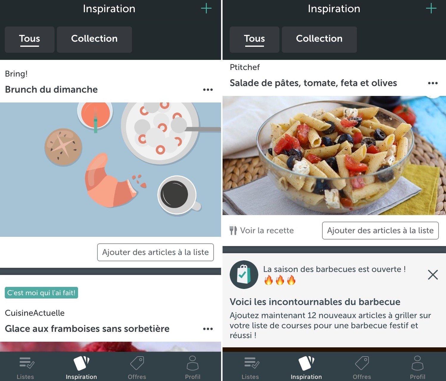 Découverte de l'app Bring: pour mieux gérer vos listes de courses sur iPhone 4