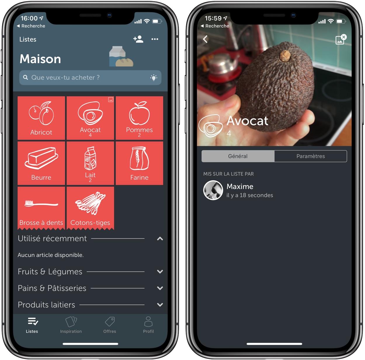 Découverte de l'app Bring: pour mieux gérer vos listes de courses sur iPhone 3