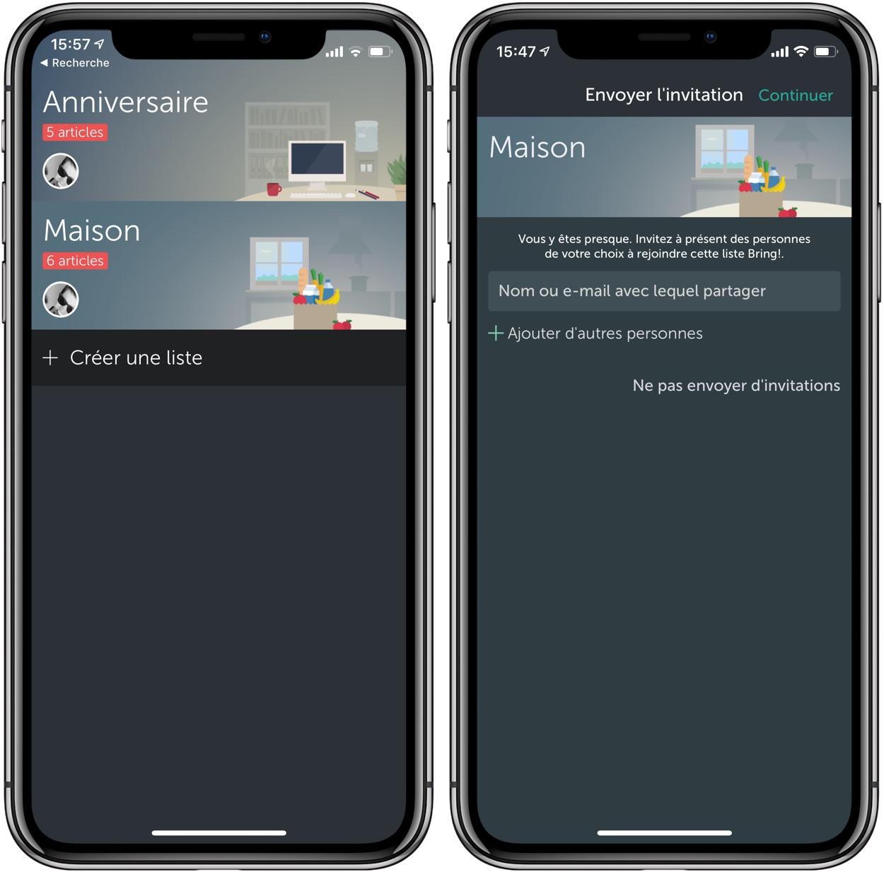 Découverte de l'app Bring: pour mieux gérer vos listes de courses sur iPhone 2