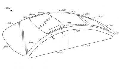 """Toit coulissant, sièges """"haptiques"""" : Apple dépose brevet sur brevet autour de l'auto 21"""