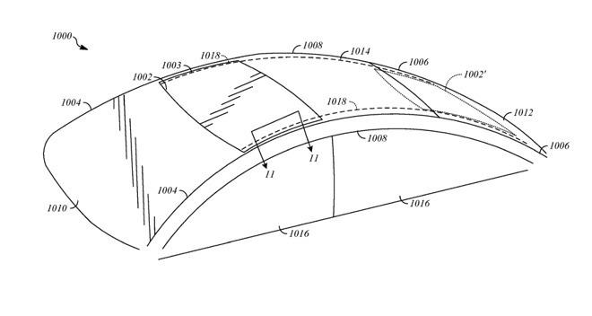 """Toit coulissant, sièges """"haptiques"""" : Apple dépose brevet sur brevet autour de l'auto 1"""