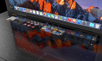 Immense zone visuelle tactile et trackpad latéral : un designer livre son concept de MacBook Pro (vidéo) 17