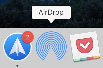 En pratique : comment ajouter un raccourci vers AirDrop dans le dock Mac 1