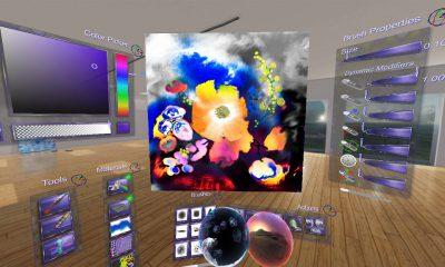 Apple embauche le créateur d'un outil de dessin 3D en Réalité Virtuelle : Cyber Paint 1