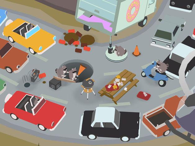 """Devenez ... un trou, dans l'étonnant jeu """"Donut County"""", disponible sur iPhone et iPad (vidéo) 1"""