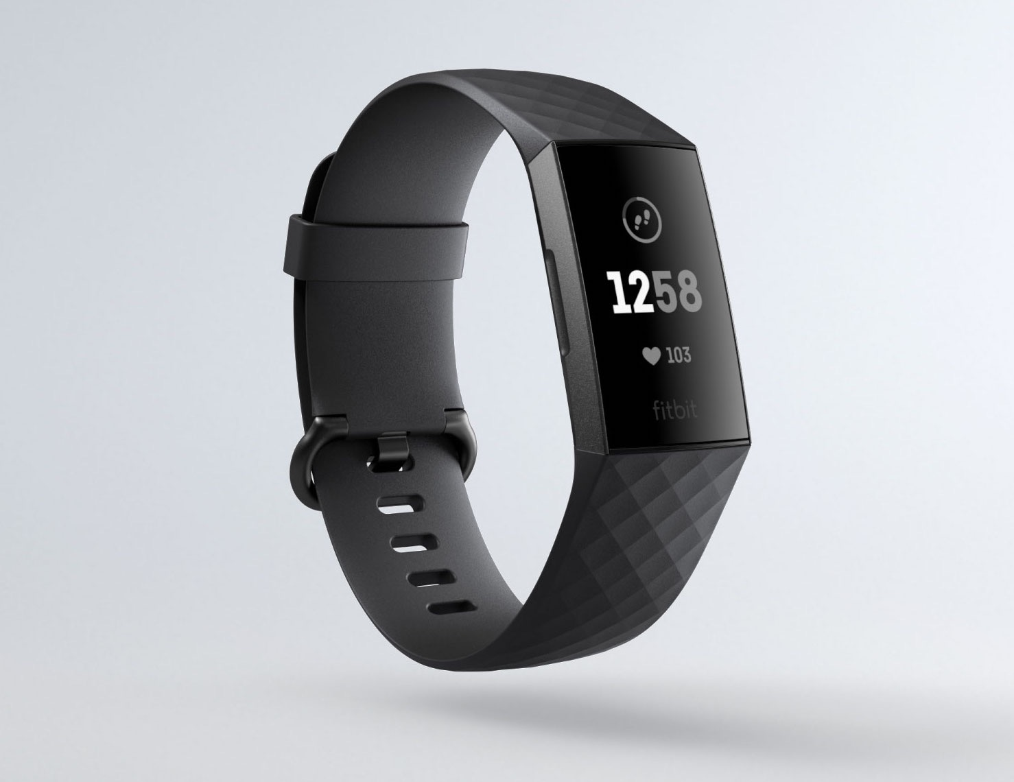 Fitbit Charge 3 : nouveau bracelet de suivi d'activité connecté, aluminium et 7 jours d'autonomie 1