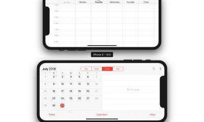 Comme l'iPhone Plus, l'iPhone X grand écran à venir aura le mode paysage d'après iOS 12 3