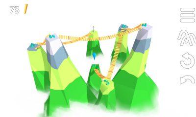 La tête au-dessus des montagnes, résolvez les casse-têtes malins de Summit Way, nouveau jeu iPhone, iPad 33