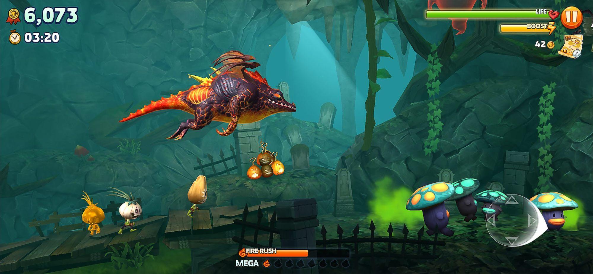 Après la série des Hungry Sharks, Hungry Dragon jette sa fureur sur iPhone et iPad 1