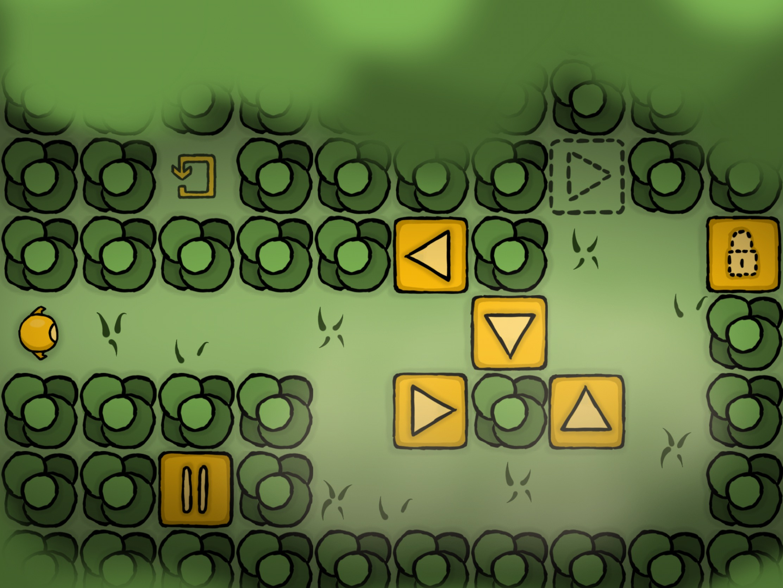 Logique et adresse nécessaires pour résoudre les casse-têtes malins de One More Button, sur iPhone, iPad 1