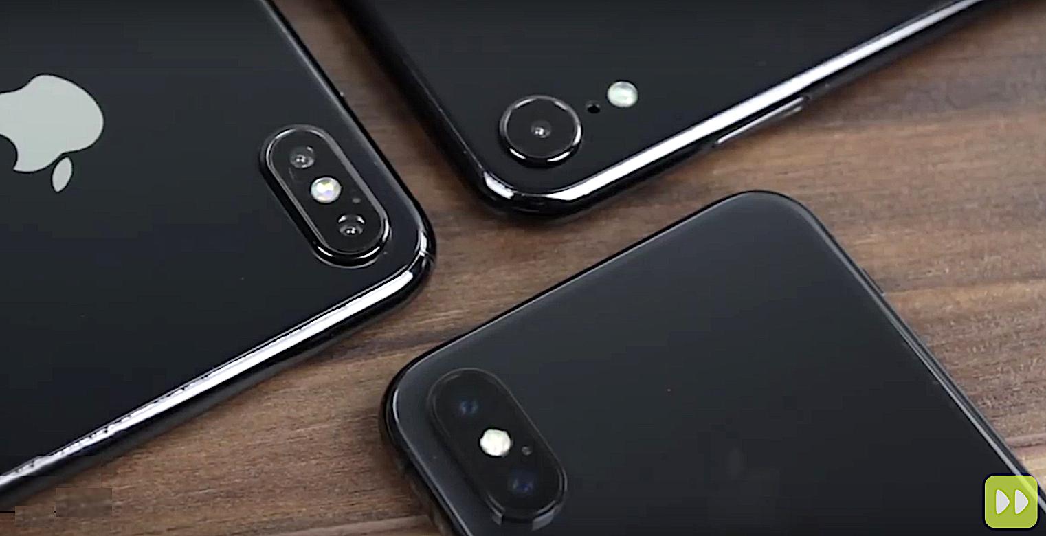 Quels noms pour les iPhone 2018 ? iPhone 9, XS et XS Plus selon cette image 1
