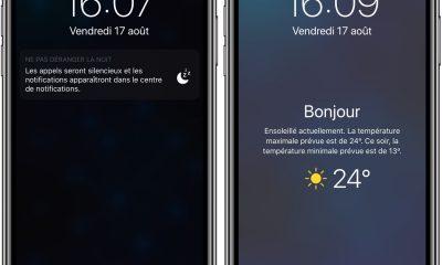 Avec iOS 12, l'iPhone affiche la météo du jour au réveil : voici comment l'activer (Màj) 1