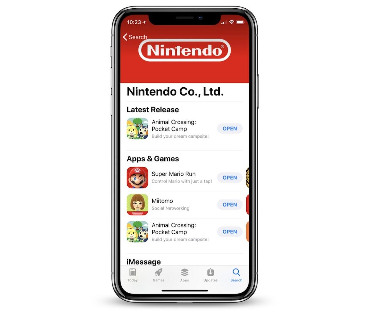 Nintendo : 300 millions d'euros de revenus inégalement répartis sur 4 jeux mobiles, avant Mario Kart Tour 1
