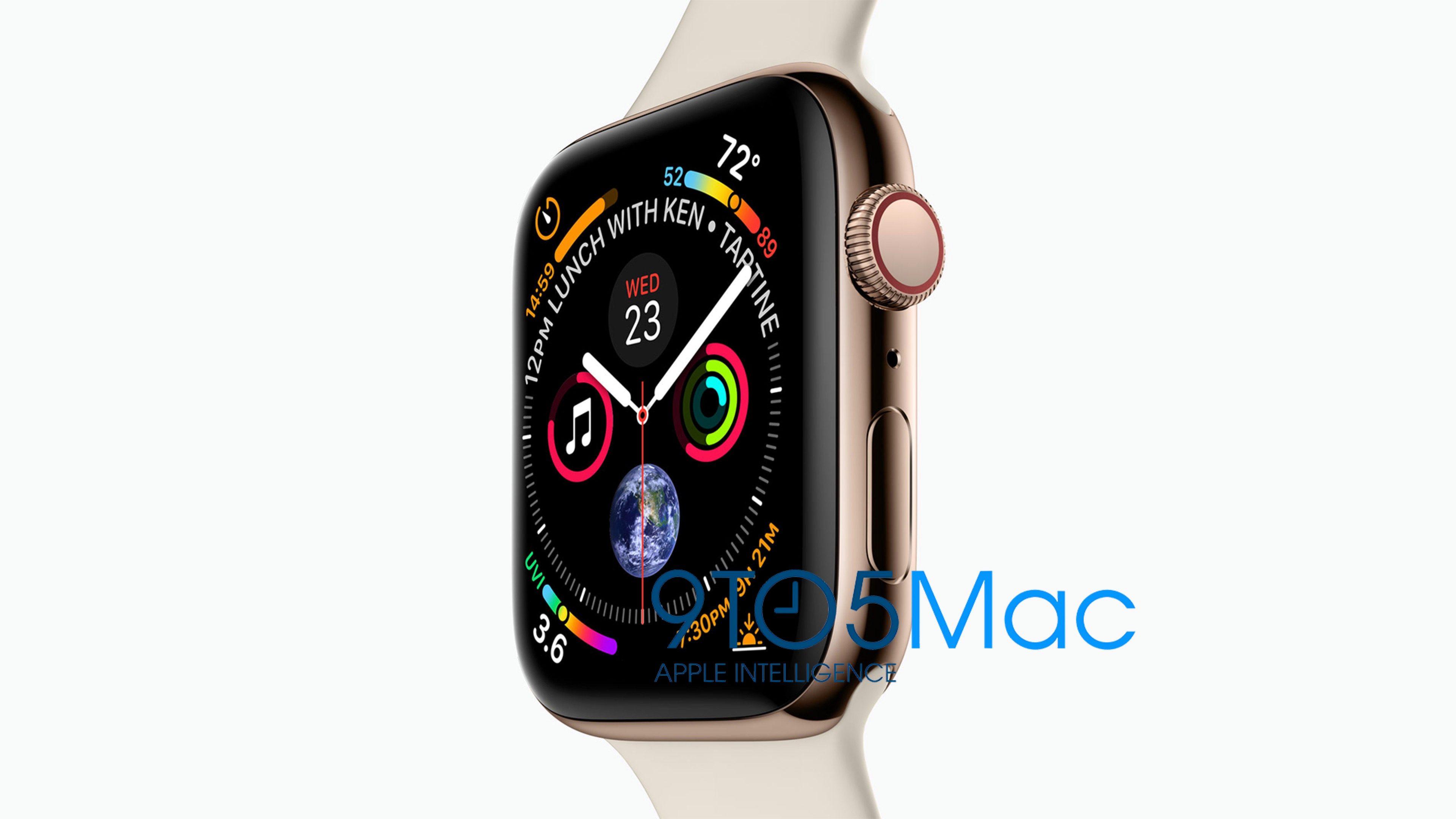 Premières images de l'iPhone XS, XS Plus et de la nouvelle Apple Watch 4 1