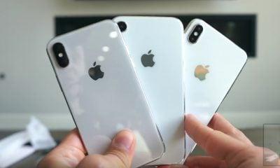 Photo : des tiroirs  SIM en 5 couleurs et en double pour les nouveaux iPhone X LCD ? 11