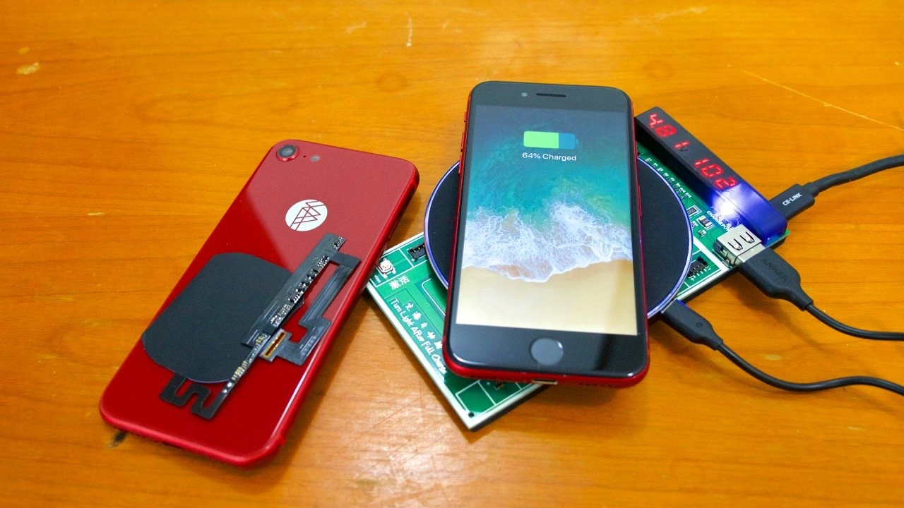 Un kit permet d'ajouter la recharge sans-fil aux iPhone 7 : vidéo 1