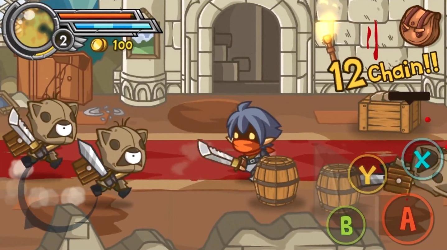 Des coups, du sang et des flammes, Wonder Blade ne fait pas dans la dentelle sur iOS. On a testé ! (Màj : support des manettes MFi) 1