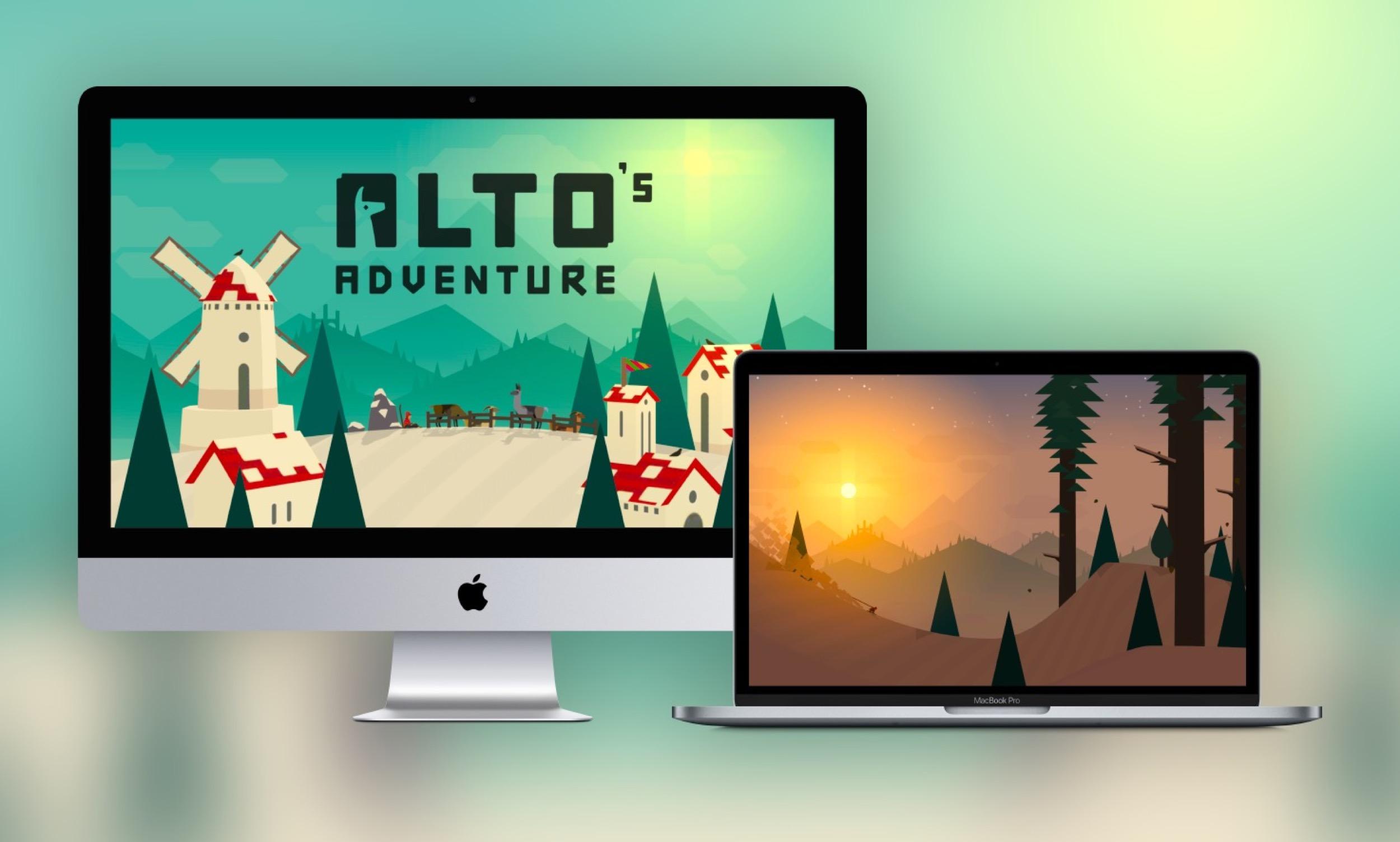 L'excellent jeu iOS Alto's Adventure désormais jouable sur Mac 1