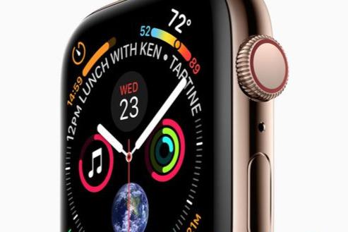 La mesure d'électrocardiogramme sur l'Apple Watch Séries 4 sera activée avec watchOS 5.1.2 1