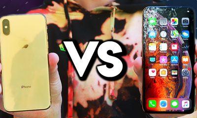 L'iPhone XS et XS Max passent au test de la chute : résistants ou pas ? (vidéo) 1