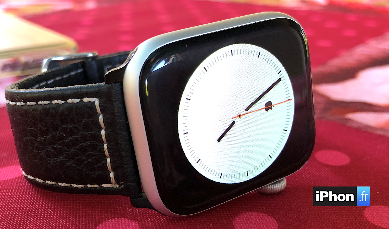 MàJ vidéo / Comment créer un cadran Apple Watch minimaliste avec symbole personnalisé au centre (  ou autre) 1