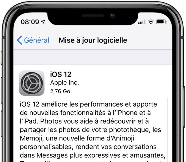 """Les versions """"GM"""" d'iOS 12 et de watchOS 5 sont disponibles : comment installer et liste des nouveautés 1"""