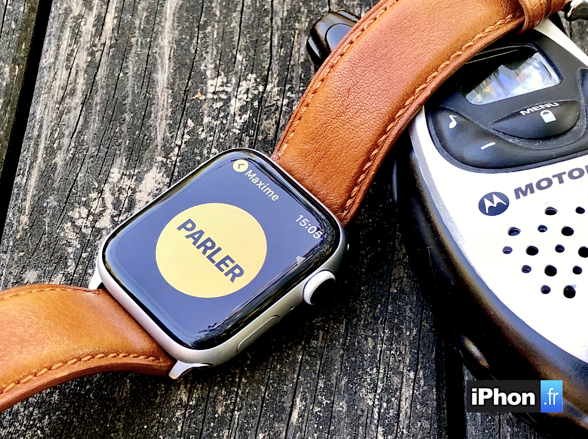 A découvrir : la fonction Talkie-Walkie de l'Apple Watch en action (vidéo) 1