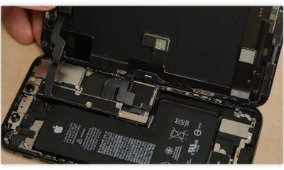 L'iPhone XS passe au démontage : la batterie est désormais vraiment en L 25