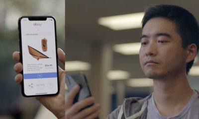 La «vue» de l'iPhone X utilisée pour parcourir des pages en bougeant la tête (techno eBay open source) 13