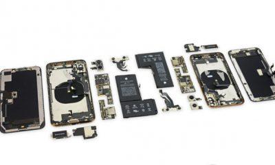 Ce qui change à l'intérieur des iPhone XS : puce de gestion batterie signée Apple et antennes 25