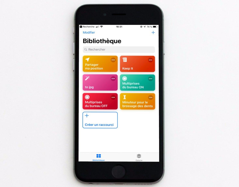 """Débuter avec """"Raccourcis"""" d'iOS 12 : premiers pas, appli, utilisation sans Siri sur iPhone et iPad (Partie 1) 1"""